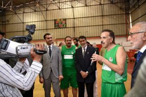 La Fondation Mohammed VI des Champions Sportifs organise le jubilé Badreddine Hachad (Basketball)